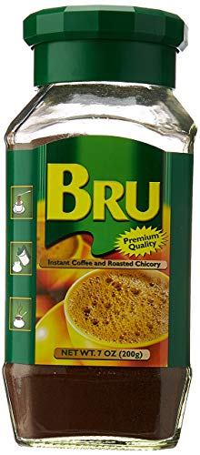 Bru Instant Coffee and Roasted Chicory, 7 Ounce - PACK OF 2