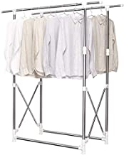 Clothes Rack Outdoor Drying Racks, Hotel Hospital Sheet Drying Rack Stainless Steel Floor-standing Balcony Clothes Rack Co...