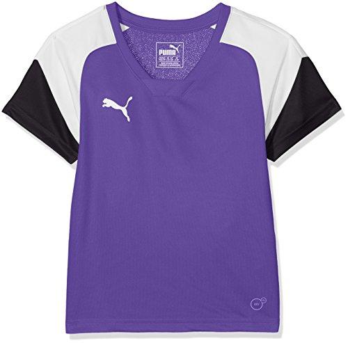 PUMA - Fußball-Bekleidung für Mädchen in Prism Violet-puma White-ebony, Größe 116