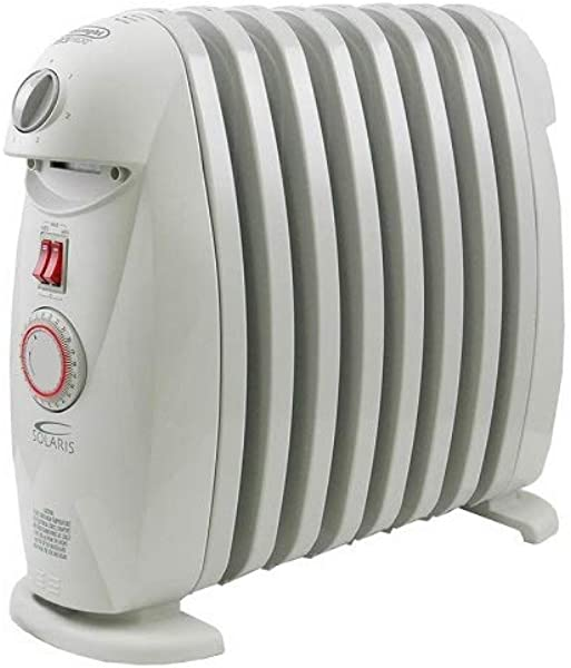 DeLonghi TRN0812T Portable Oil Filled Radiator With Programmable Timer