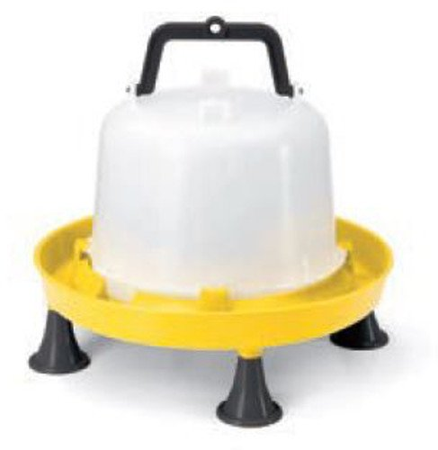 UKAL 510100005 - Basse-cour - Alimentation - Abreuvoir avec pieds et anses 5 L jaune