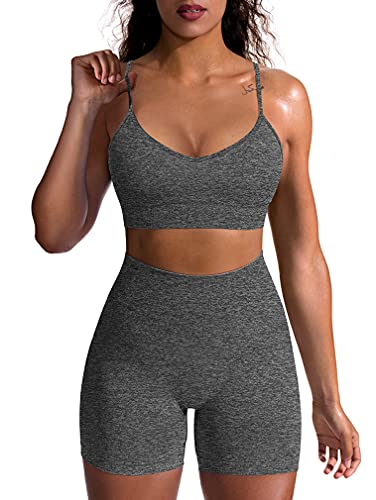OQQ Yoga Outfit for Women Seamle...