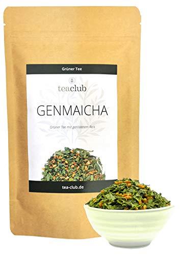 Genmaicha Tee Lose, Japanischer Grüner Tee mit Reis, Kirishima Japan Grüntee, Teaclub Green Tea