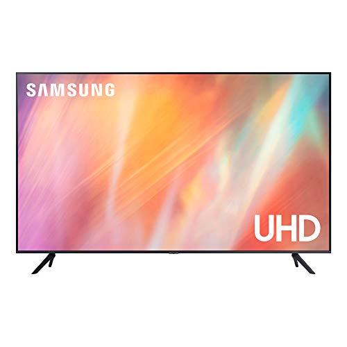 Samsung 4K UHD 2021 85AU7105 - Smart TV de 85' con Resolución Crystal UHD, Procesador Crystal UHD, HDR10+, PurColor, Contrast Enhancer y Alexa Integrada