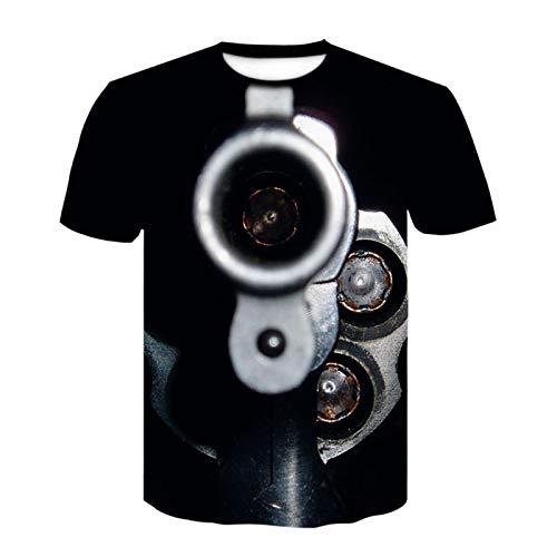 SSBZYES Camiseta para Hombre Camiseta con Cuello Redondo para Hombre Camiseta con Estampado para Hombre Camiseta De Manga Corta con Estampado 3D Camiseta Suelta con Cuello Redondo para Hombre