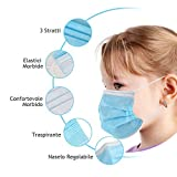 Immagine 1 50 mascherine chirurgiche bambini certificate
