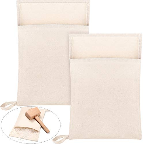 Lewis Tasche Canvas-Eisbeutel Crushed Ice Bag wiederverwendbare Canvas-Tasche für Crushed Eis getrocknetes Eis