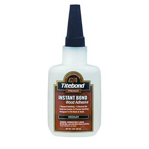 Titebond Instant Bond Wood Adhesive, Medium 4 oz