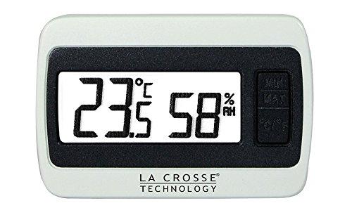 La Crosse Technology WS 7005 Bianco Mini termometro igrometro Meter Capelli igrometro