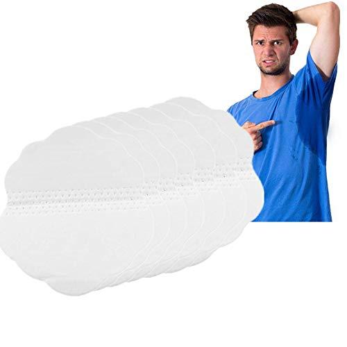 Almohadillas para las axilas, Quincunx en forma almohadillas antitranspirantes desechables almohadillas para el sudor de axilas protección contra el sudor y desodorante manchas(60 pcs)