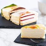 お中元 スイーツ お菓子 の ギフト ひんやり アイス ミルクレープ ケーキ 5種6個食べ比べ セット