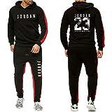 GHQYP Chandal Hombre Completo Baloncesto- Hombre 23# Jordan Winter Sports Chándal 2Pcs, Style7,Men(M)