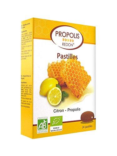 Propolis Redon Pastilles Citron Miel Propolis Bio 24 Pastilles