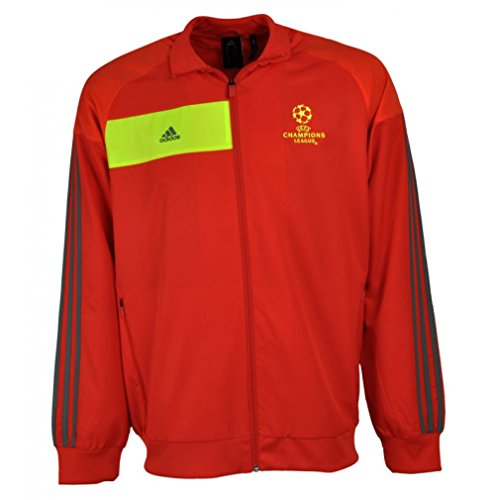 adidas Predator Champions League Trainings Jacke S Trainingsjacke (Woven), rot
