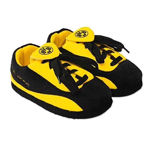 Borussia Dortmund Kids Hausschuhe (35/36, schwarz/gelb)