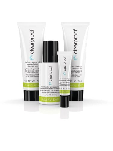 Mary Kay Clear Proof Acne System The Go Set - Travel Size