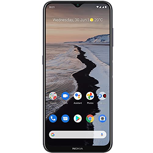 Nokia G10 | Android 11 | Unlocked Smartphone | 3-Day Battery | Dual SIM | US Version | 3/32GB | 6.52-Inch Screen | 13MP Triple Camera | Polar Night