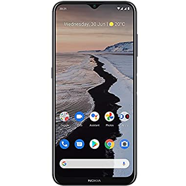 Nokia G10 | Bonus 90-Day Voice Text Data Cellular Service Plan | Android 11 | Unlocked Smartphone | 3-Day Battery | Dual…