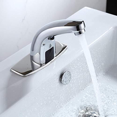 Baño caliente y frío Grifos automáticos con sensor táctil libre Ahorro de...
