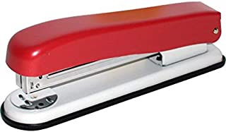 Roco Classic 5820 Desk Stapler, up to 20 Sheets of 80 gsm;22 Sheets of 70 gsm, Burgundy/Putty, 20203BGY