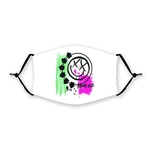 Wanjirong Popular Blink 182 Veil Face Shield Unisex Cover Neck Balaclava Mouth Scarf