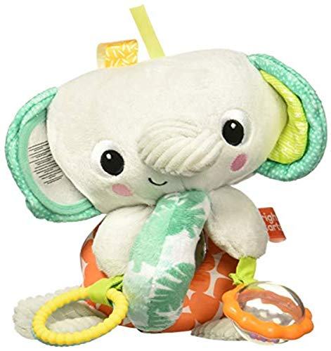 Bright Starts Twirly Whirly Easy Travel Take-Along Plush Toy Style May Vary Ages Newborn