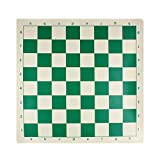 Andux Chess Game Tablero de ajedrez Enrollable XQQP-01 (Verde, 43 * 43 cm)