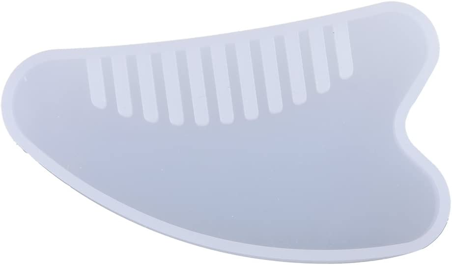 Max 48% OFF freneci DIY Silicone Today's only Comb Mold - Tooth Wide 4# Template
