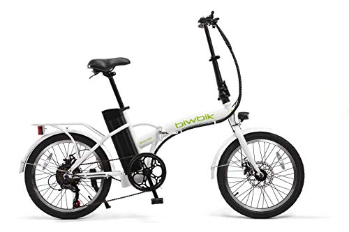 Bici elettrica pieghevole Biwbik mod. Book 300., bianco