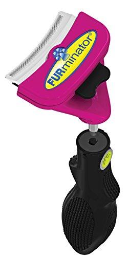 FURminator FURflex, Fellpflegebürste für große Katzen, deShedding-Tool zur Entfernung der Unterwolle, Größe L