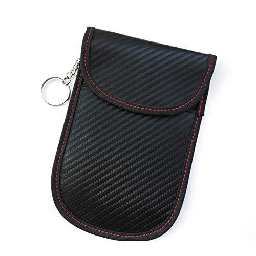Stronrive Estuche Bloqueador De Señal De Llave para Coche, RFID Anti Bolsa De Protección Radiológica, Entrada Sin Llave Antirrobo Faraday Bag, WiFi/gsm/LTE/NFC Bloqueador