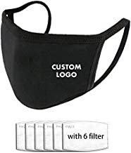 Custom Face Mask Custom Unisex Face Cover Neck Gaiter Face Bandanas With Your Logo Image For Sports,Outdoor And Travel