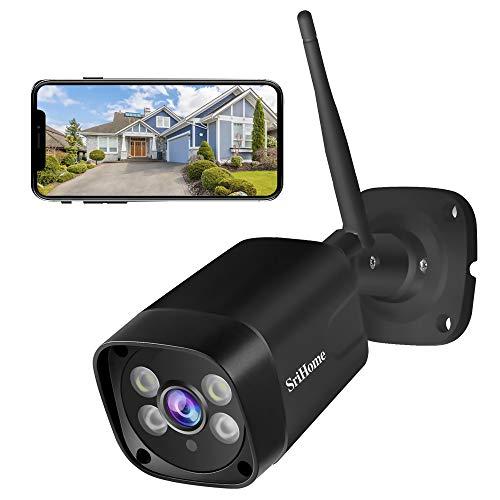 Cámara de vigilancia WiFi,1296P Cámara de Seguridad Exterior...