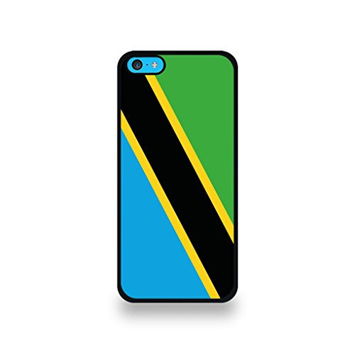 LD Case COQIP5C_180 beschermhoes voor iPhone 5C, motief Tanzania vlag