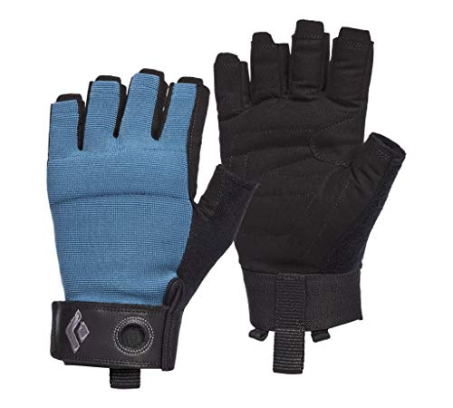 Black Diamond Herren Crag Half-Finger Gloves Kletterhandschuhe, astral_Blue, XS