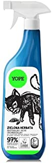YOPE - Multifunctional Cleanser with Green Tea Extract - suitable for different surfaces - anti-static - EcoBio - biodegradable - 750 ml