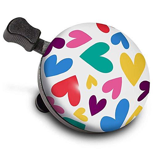 Nutcase Bell Fahrradklingel 'Happy Hearts'