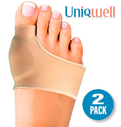 Bunion Toe Corrector | Orthopedic Gel Pad Bunion Pain Relief | Unisex Metatarsal Hammer Toe Pads | Insert Cushion Splint in Shoes | Fits with Socks as Well (2 Pack)
