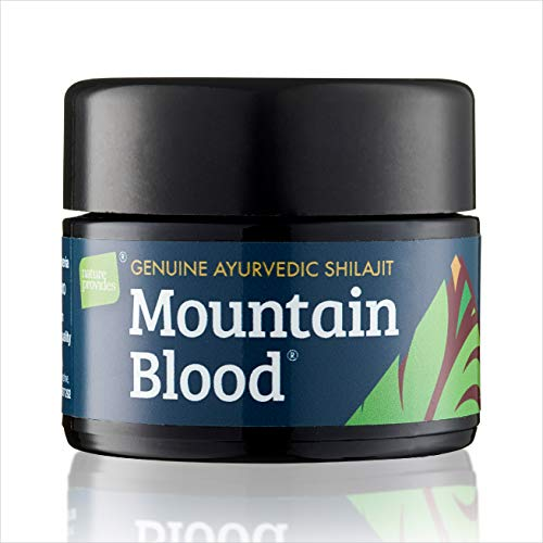 Superior Quality Shilajit by Mountain Blood® (30g) UK-Tested, 3 Months Supply. Organic Non-GMO, Vegan, Ethically Sourced, Independently Lab-Tested in The UK, Packed in UV-Glass