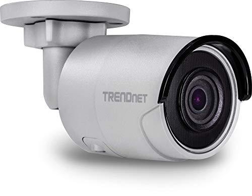 TRENDnet TV-IP1318PI Indoor/ Outdoor 8MP PoE Bullet Netzwerk Kamera, Nachtsicht bis zu 30 M (98 ft.), IP67