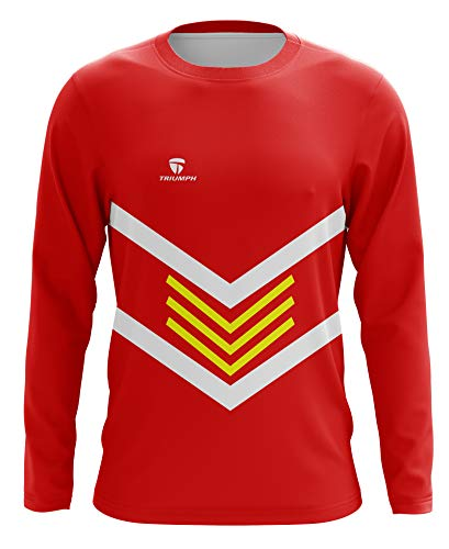 Triumph Soccer Goalie T-Shirts Designs for Boy Size 28