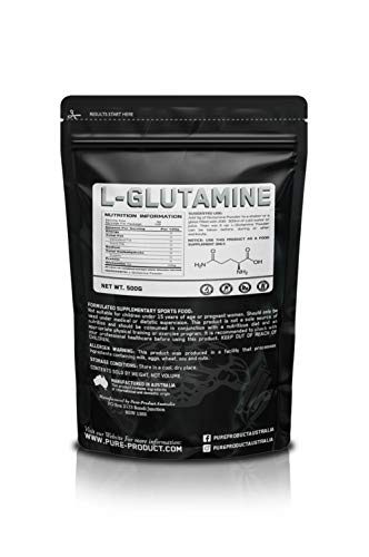 Pure Product Australia L-Glutamine Powder, 500 grams
