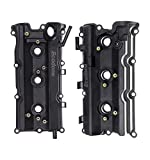 Engine Valve Covers Left & Right Compatible with 03-07 Infiniti 350Z, 03-07 Infiniti G35, 03-08 Infiniti FX35, 06-08 Infiniti M35,VQ35DE V6 Motor 3.5L with Gaskets by Ecodone