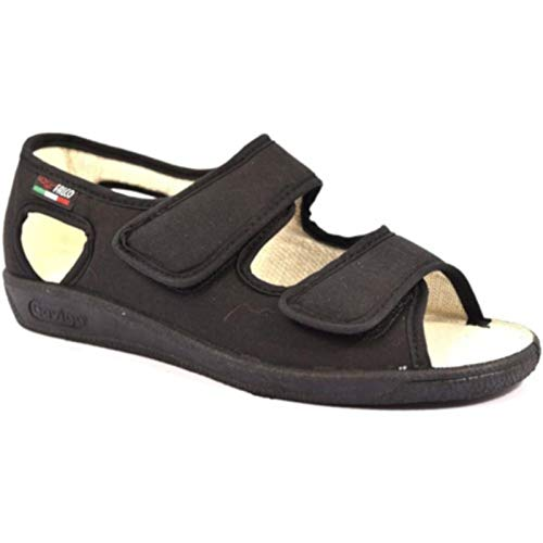 Gaviga 180 Pantofola Regolabile Nero Fisioterapia 37 Nero