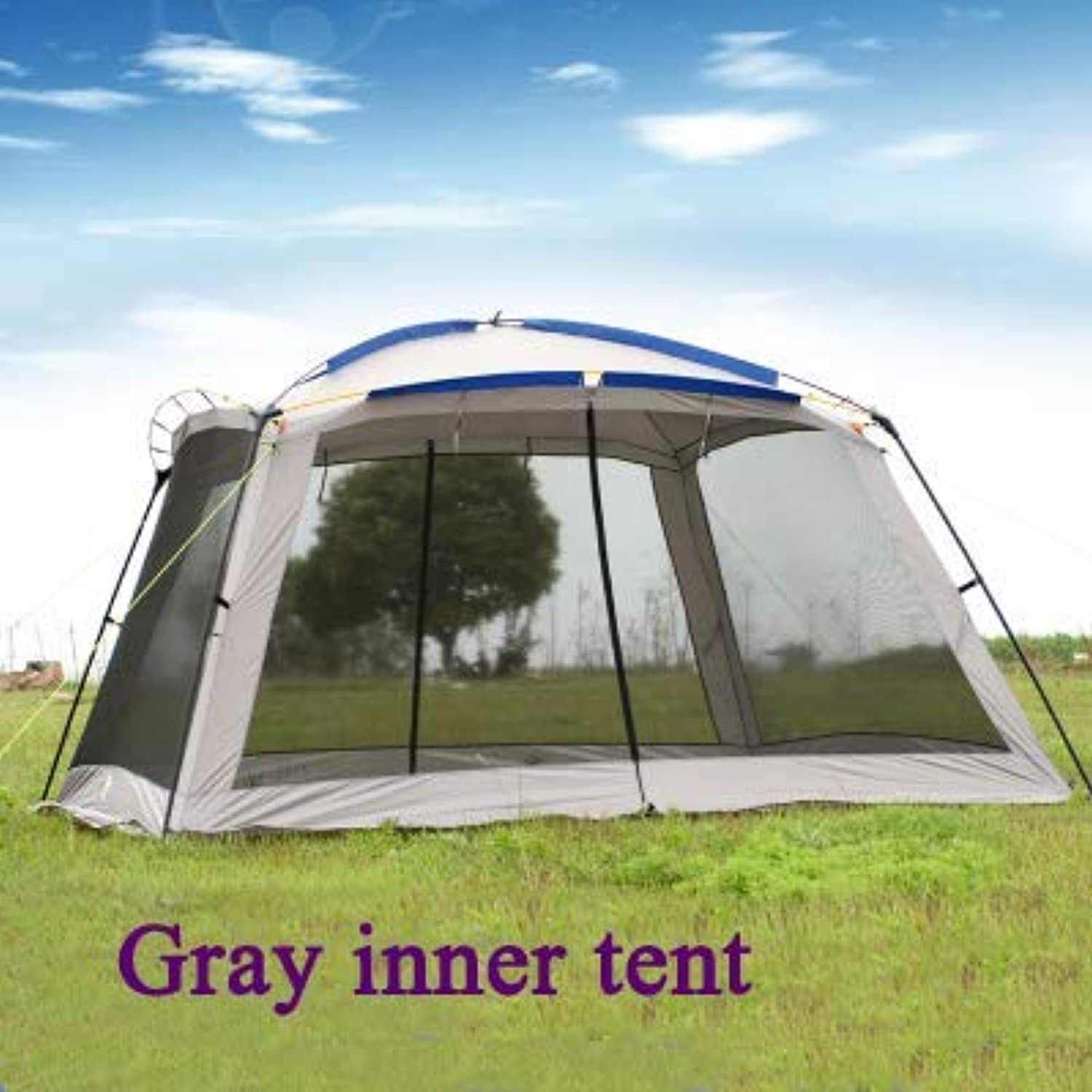 GFF CHYYZP Zelt Big Space Sonnencreme Anti-Moskito Regen Windy Outdoor Camping Zelt Multifunctionalsun Shelter