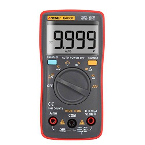 UEETEK Digital Multimeter Multi Tester Spannungsmesser Stromprüfer Widerstand