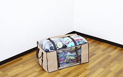 圧縮+plusシリーズ圧縮袋付収納ケース衣類用