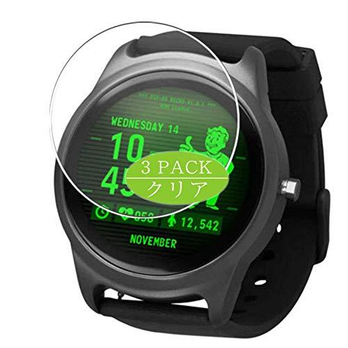 VacFun 3 Piezas Claro Protector de Pantalla, compatible con Fallout smart watch Smartwatch, Screen Protector Película Protectora(Not Cristal Templado) NEW Version