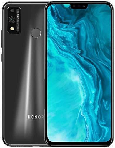 HONOR 9X Lite Smartphone 4GB + 128GB 6.5' FHD+ Teléfono Móvil, 48MP + 2MP Cámara Trasera, 8MP Selfie Camera, Desbloqueo Facial y Huella Digital, Auricular Clásico y NFC, Dual Sim, Negro