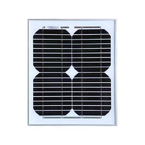 YILANJUN 10W Monocrystalline Solar Panel, Used To Charge 12v Battery, Photovoltaic Panel Outdoor Lighting Household Power Generation